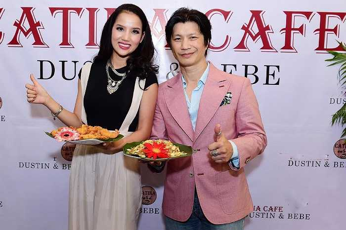Ngoài niềm đam mê điện ảnh thì cặp đôi Dustin Nguyễn và Bebe Phạm còn đam mê ẩm thực Việt Nam, nên cả hai đã quyết định mở cửa hàng kinh doanh cafe.