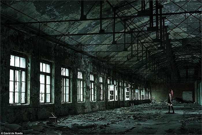 Một nhà máy bị bỏ hoang ở St Petersburg, Nga