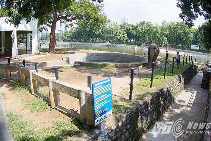 Ngày 8- 8, Tổ chức Động vật Châu Á và Tổ chức Thay đổi vì Động vật đã tặng Vườn thú Hà Nội công trình hàng rào điện cho khu chăm sóc voi.