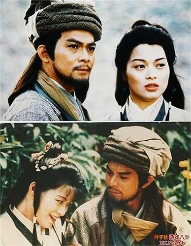 'A Châu' Lưu Cẩm Linh: Lưu Cẩm Linh được ca ngợi là nàng A Châu đẹp và dịu dàng nhất trên màn ảnh với mối tình tri kỷ bên Kiều Phong.