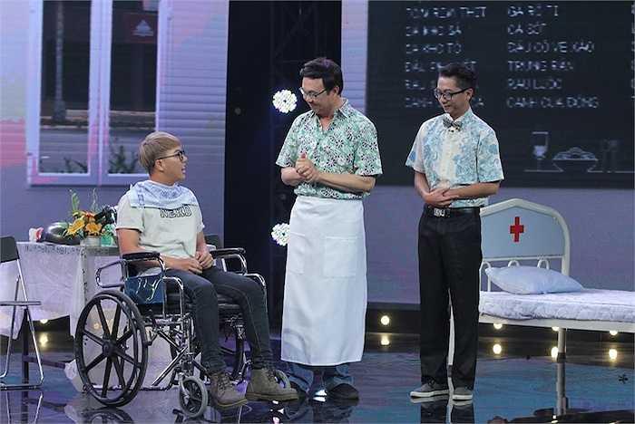 Tập 5 chương trình Hội quán tiếu lâm lên sóng truyền hình Vĩnh Long với sự tham gia cuả ba khách mời: diễn viên Phương Dung, Duy Khánh Zhou Zhou và ca sỹ Tăng Nhật Tuệ.