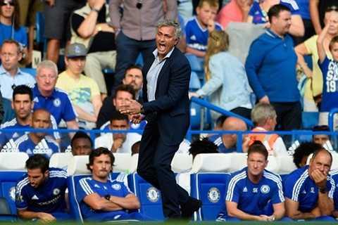 Mourinho khá tức tối sau trận hòa của Chelsea