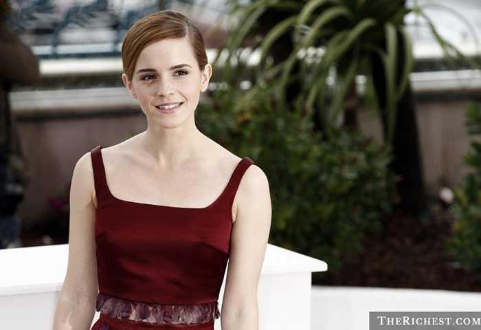 Emma Watson, 25 tuổi. Cô phù thủy Hermione đã quá quen thuộc với nhiều người. Và trong tâm trí của các fan hâm mộ, Emma là một người phụ nữ hoàn hảo: xinh đẹp, quyến rũ, thông minh và có trình độ học vấn tuyệt vời
