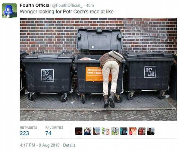 Tìm đâu ra cái tờ hóa đơn chuyển tiền mua Cech?