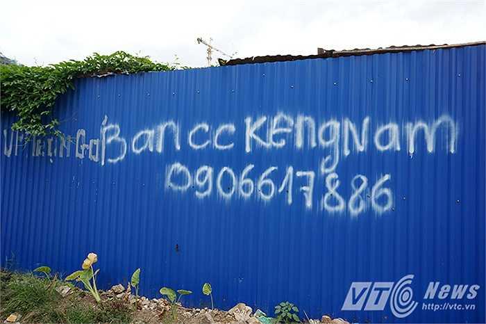 Quảng cáo rao bán căn hộ chung cư cao cấp như KeangNam cũng chung số phận hẩm hiu.