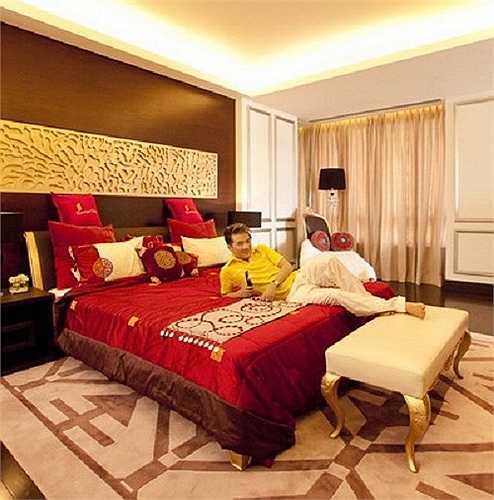 Căn hộ được thiết kế với nhiều phòng giải trí, thư giãn cao cấp.