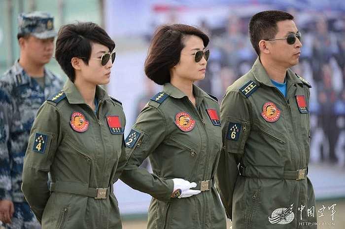 Những nữ phi công đầu tiên của Trung Quốc