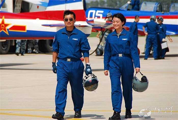 Họ được đào tạo để lái máy bay chiến đấu
