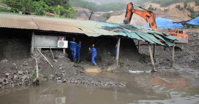 Ngành than bị thiệt hại đến 1.200 tỷ đồng sau trận mưa lũ lịch sử ở Quảng Ninh vừa qua