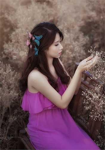Những bức hình chụp trong thời gian 1 giờ đồng hồ bởi mẫu xinh đẹp sinh năm 1995 tên Đào Hà.