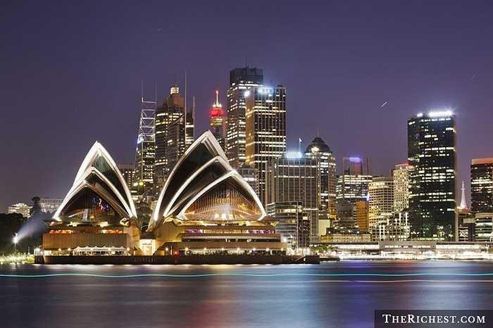 Australia / GDP Bình quân đầu người: 44.073 USD. Australia luôn nằm trong Top những quốc gia có chỉ số GDP bình quân đầu người cao nhất trong nhiều năm qua. Tuy nhiên, nền kinh tế quốc gia này tăng trưởng không thực sự khả quan và tương lai vị trí trong danh sách này đang lung lay dữ dội