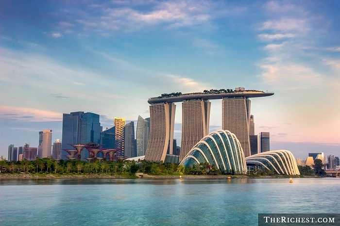Singapore / GDP bình quân đầu người: 61.567 USD. Singapore đã và đang là một trong những quốc gia phát triển hàng đầu thế giới nhưng sự phát triển của họ đang chậm lại thời gian gần đây với tỷ lệ thất nghiệp ngày một tăng thêm