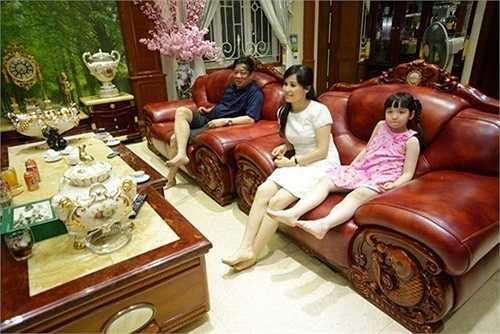 Trang Nhung cho biết, căn nhà có diện tích khoảng 500m2