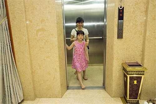 Căn hộ được thiết kế thang máy riêng