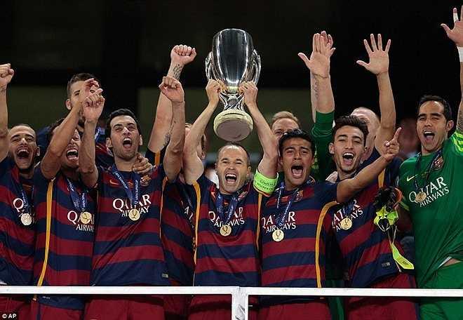 Barca giành Siêu cúp châu Âu sau khi đánh bại Sevilla với tỷ số 5-4 sau 120 phút thi đấu.