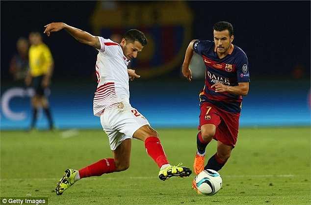 Nhiều khả năng, Man Utd và Barca sẽ hoàn tất thương thảo trong tuần này về trường hợp của Pedro