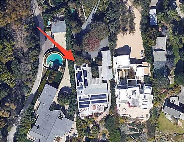 Căn nhà trị giá 60 triệu USD của Iovine ở Malibu, Mỹ