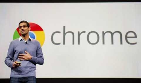 Thành công của Google Chrome có dấu ấn đậm nét của Sundar Pichai