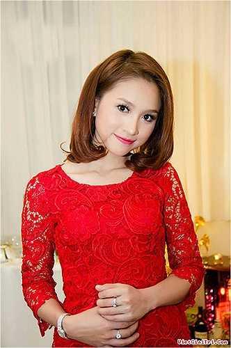 Thanh Vân đang là gương mặt MC nổi bật của các chương trình truyền hình