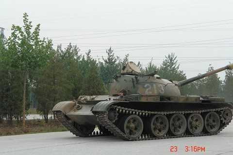 Xe tăng T-59 thực chất là bản sao của xe tăng T-54