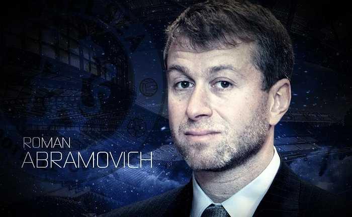 Tỷ phú người Nga Roman Abramovich hiện sở hữu số tài sản 5,3 tỷ bảng, là ông chủ giàu thứ hai tại Premier League.