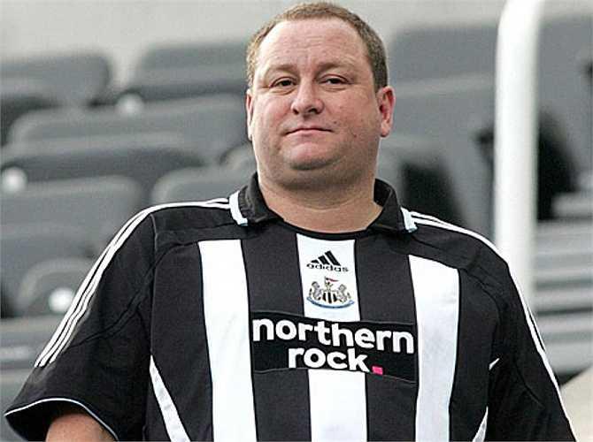 Ashley bắt đầu nắm quyền kiểm soát Newcastle từ năm 2007.
