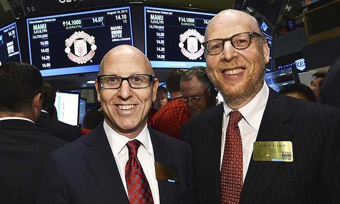 Gia đình Glazer - những người sở hữu CLB Man United - xếp thứ 6 với tài sản 3 tỷ bảng.