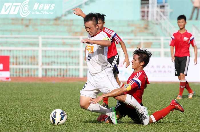 Theo lịch thi đấu, ngày 11/9, U18 sẽ làm khách trên sân của U18 Phnom Penh Crown. Ngày 17/9, U18 Kashima Antlers sẽ tiếp đội trên tại Nhật Bản (Ảnh: Hoàng Tùng)