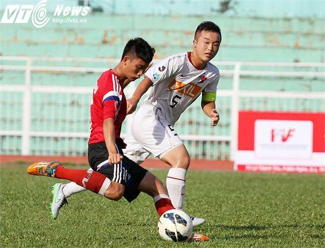 Hai trận đấu cuối cùng của U18 PVF tại vòng bảng ASIA Champions Trophy 2015 sẽ diễn ra vào các ngày 14/10 và 22/10, đều diễn ra lúc 15h30 trên sân Thống Nhất (Ảnh: Hoàng Tùng)