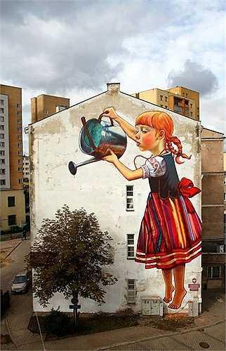 Ý tưởng sáng tạo của các nghệ sĩ đường phố