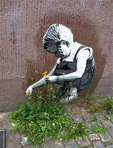 Bất kỳ vật gì trên đường cũng trở thành nguồn cảm hứng cho các nghệ sĩ