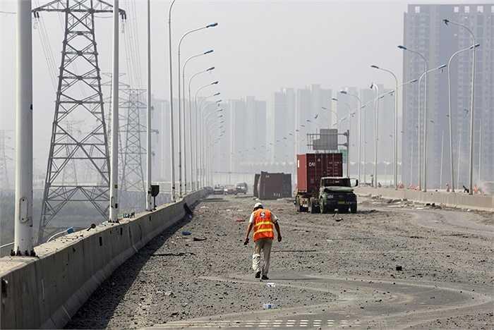 Nhiều lực lượng chức năng của Trung Quốc đang nỗ lực giải quyết, khắc phục hậu quả
