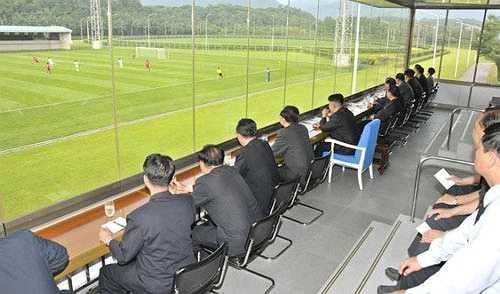 Phòng VIP xem bóng đá của chủ tịch Kim Jong-Un