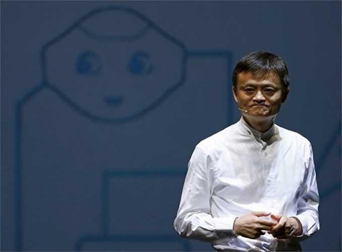 Tỷ phú Jack Ma là người sáng lập Website mua sắm trực tuyến Alibaba. Ông hiện có tài sản 20 tỷ USD đứng trong hàng những người giàu nhất thế giới