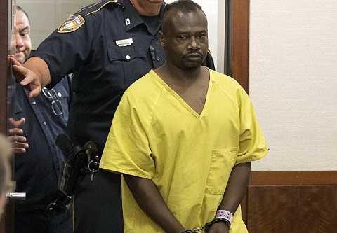 David Ray Conley III trong lần trình diện tòa án ở Houston hôm thứ Hai vừa qua sau khi bị kết tội giết người