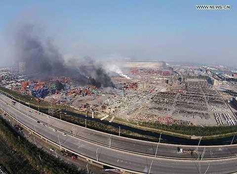 Vụ nổ có sức công phá tương đương 21 tấn thuốc nổ TNT