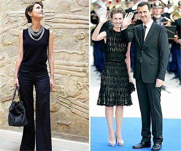 Đệ nhất phu nhân của Syria, Asma al-Assad đã thu hút sự quan tâm chú ý không chỉ ở Syria mà toàn thế giới
