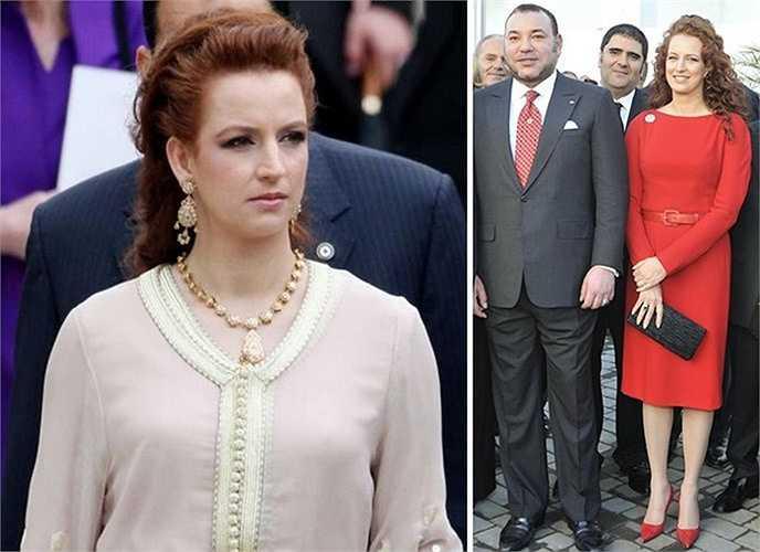 Công nương Lalla Salma kết hôn với Vua Morocco, Mohammad VI