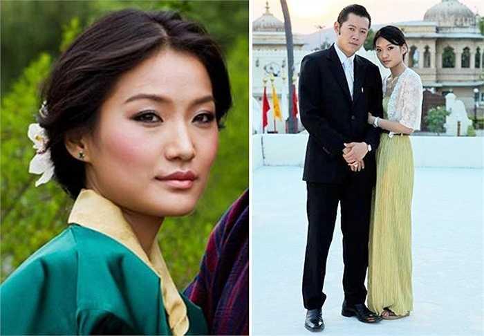 Hoàng hậu Jetsun Pema của Bhutan luôn nhận được sự quan tâm đặc biệt tại mỗi nơi bà xuất hiện
