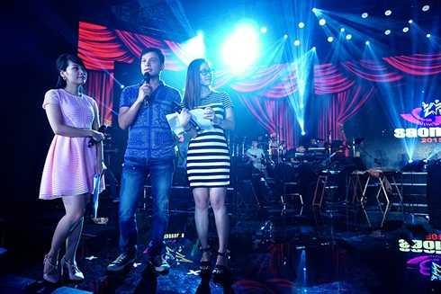 MC đêm chung kết xếp hạng sẽ là Thùy Linh - Danh Tùng - Mỹ Lan