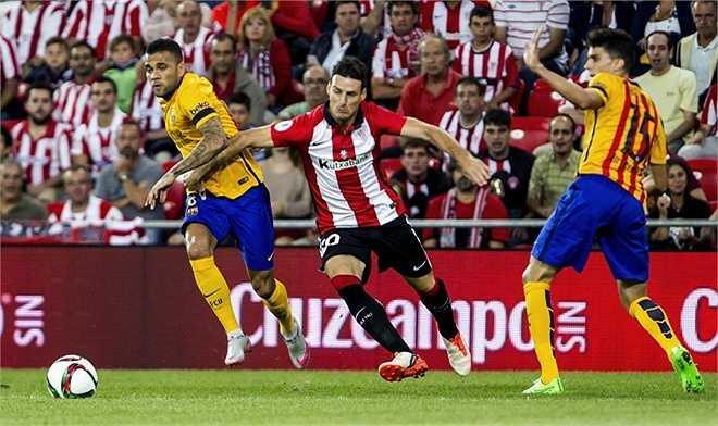Dù thi đấu trên sân nhà ở trận lượt về diễn ra lúc 3h ngày 18/8, Barca vẫn đối mặt với nguy cơ vỡ mộng ăn sáu sau thất bại nghiêm trọng tại San Mames. (Tổng hợp)
