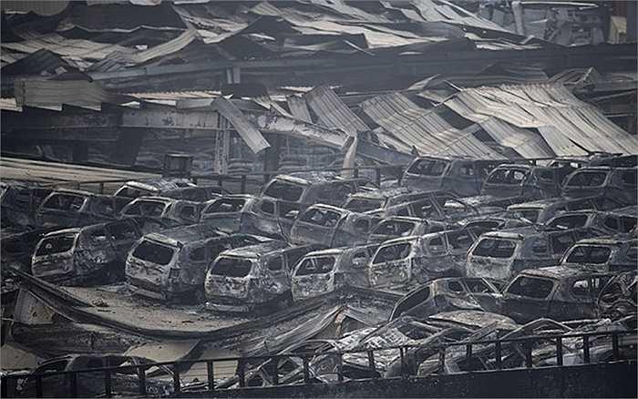 Cảnh tượng ngổn ngang ở Thiên Tân vào thời điểm hiện tại