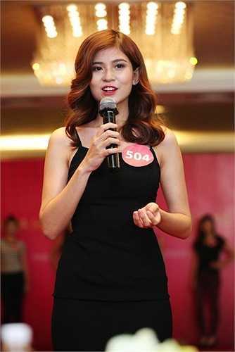 Trần Thái Tâm Đan cao 1,72 m, đến từ TP HCM. Nữ thí sinh đăng ký dự thi Hoa hậu Hoàn vũ Việt Nam 2015 để thoả ước được thử sức ở các cuộc thi nhan sắc từ khi còn nhỏ. Ở độ tuổi 20, Tâm Đan gây ấn tượng bởi sự tươi trẻ, năng động cùng ngoại hình xinh đẹp.