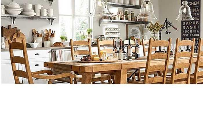 Chiếc bàn ăn Benchwright siêu dài với 10 chiếc ghế Wynn cỡ rộng có giá 5,654 triệu USD (gần 125 tỷ đồng).