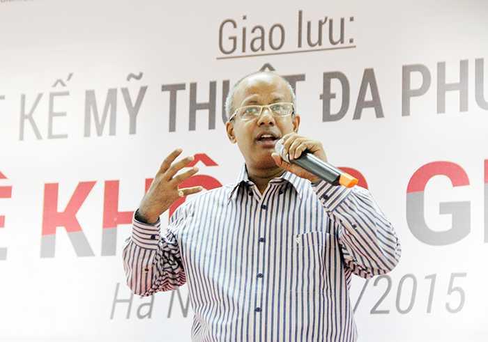 Ông Rajat Adhikary, trưởng đại diện Arena Toàn cầu tại Việt Nam