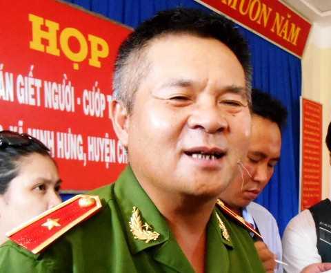 Thiếu tướng Hồ Sỹ Tiến (Ảnh: Phan Cường)