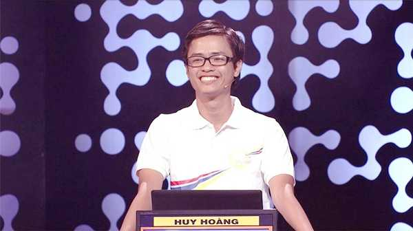 Thí sinh Nguyễn Huy Hoàng.