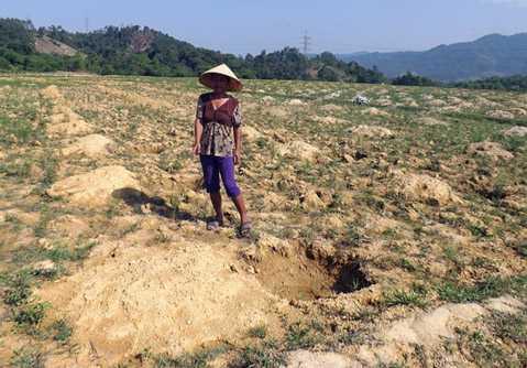 Người Đan Lai gặp rất nhiều khó khăn về đất sản xuất