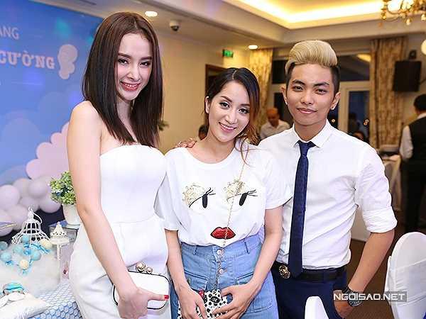 Angela Phương Trinh cũng có mối quan hệ thân thiết với kiện tướng dance sport.