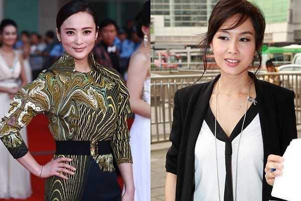 Hiện, cả hai đã ở tuổi tứ tuần, họ vẫn giữ được nét đẹp năm xưa. Một điểm trùng hợp là Chu Ân (phải) và Thủy Linh đều từ giã làng giải trí khi sự nghiệp đang thời kỳ đỉnh cao vì gia đình.